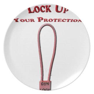 gunlock plate