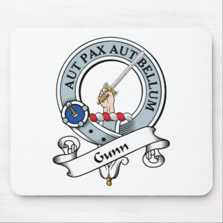 Gunn Clan Badge Mouse Pad