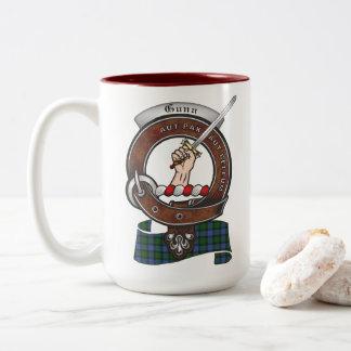 Gunn Clan Badge Two Tone 15oz Mug