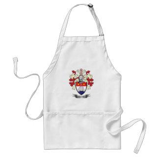 Gunn Family Crest Coat of Arms Standard Apron