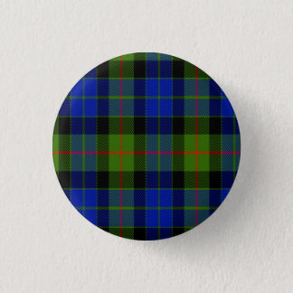 Gunn Scottish Tartan 1 Inch Round Button