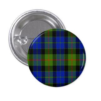 Gunn Scottish Tartan 1 Inch Round Button