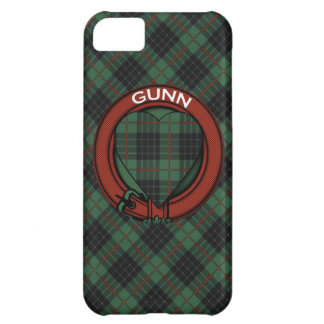 Gunn Scottish Tartan iPhone 5C Cover