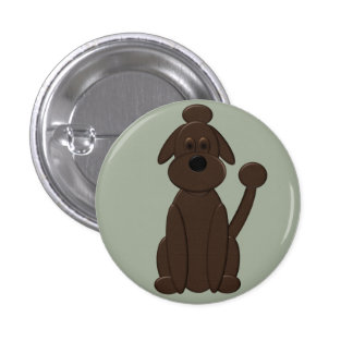 Gunnar - Who's a Good Boy 1 Inch Round Button