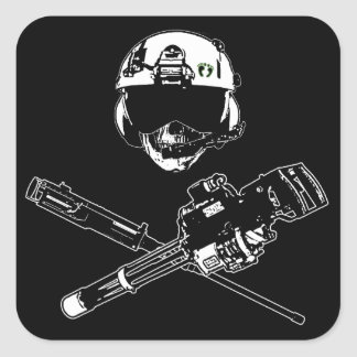 Gunner Pirate Sticker