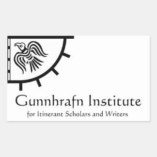 Gunnhrafn Institute Sticker