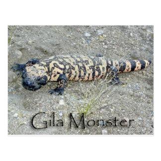 """Gunny"" the Gila Monster In Congress, Arizona 6/26 Postcard"
