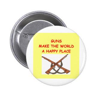 guns 2 inch round button