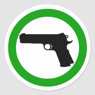 Guns Allowed Zone sticker