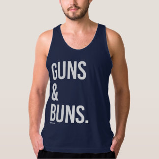 Guns and Buns Tank Top