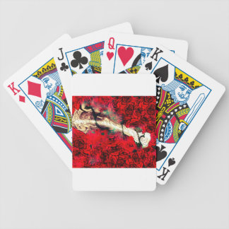 Guns and roses bicycle playing cards