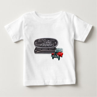 Guns and Rovers Red Rover Baby T-Shirt