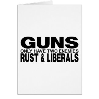 GUNS CARDS