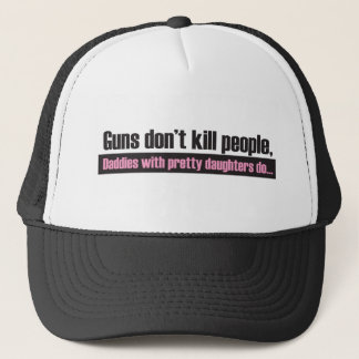 Guns Don't Kill People Trucker Hat