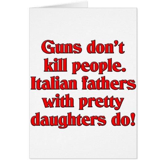 Guns don't kill card