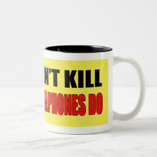 Guns Don't Kill Mug Gift