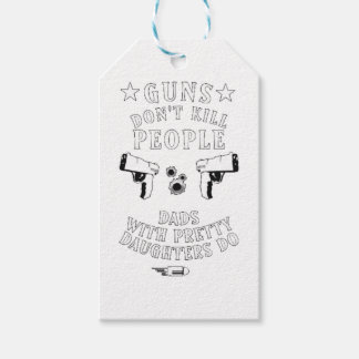 Guns Don't Kill People... Gift Tags