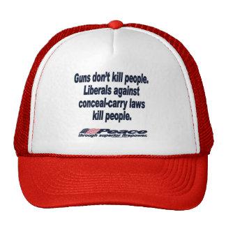 Guns Don't Kill People Hat