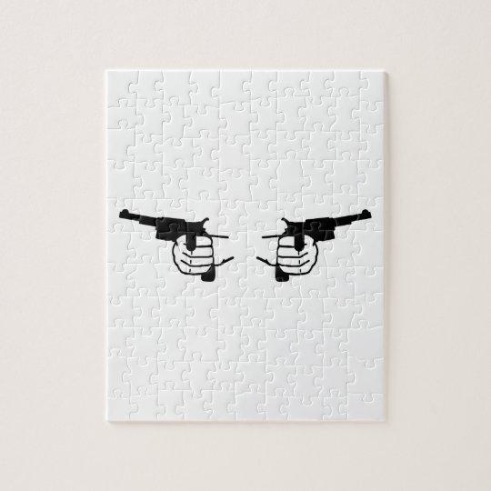 Guns hands jigsaw puzzle