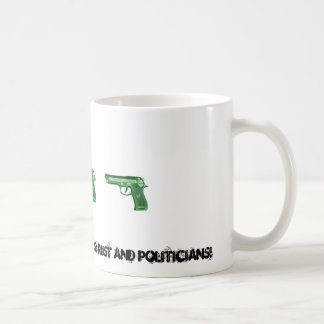 GUNS HAVE 2 ENEMIES! COFFEE MUG