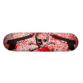 Guns n Skull Skateboard