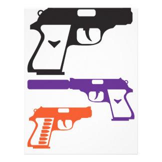 Guns pdf letterhead design