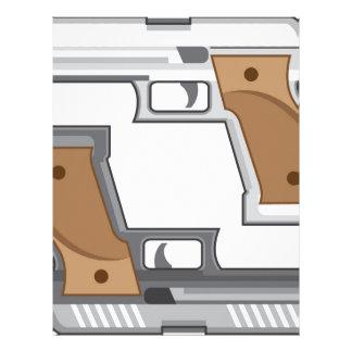Guns Vector Customized Letterhead