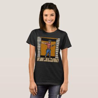 Gunslinger At Saloon T-Shirt