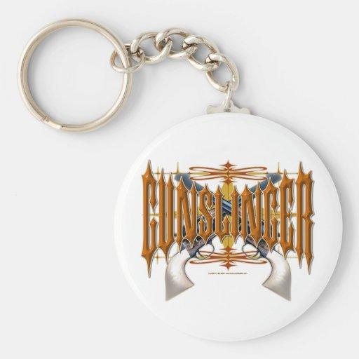 Gunslinger Key Chains