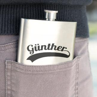 Günther original flat man hip flask