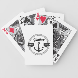Günther Sailor Spielkarten Bicycle Playing Cards