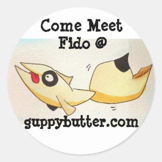 Guppy Butter Come Meet Fido Sticker