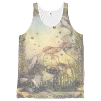Guppy Dreams All-Over-Print Tank Top