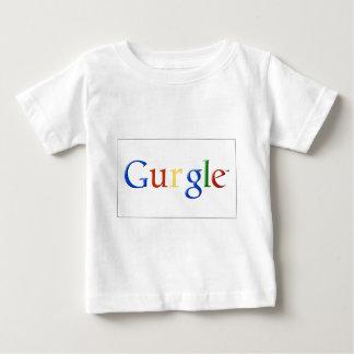 GURGLE Vintage Old School Font Baby T-Shirt