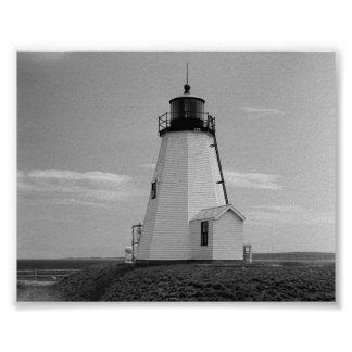 gurnet lighthouse saquish duxbury ma. poster