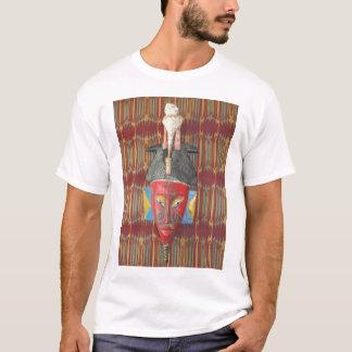 Guro Tribal Bird Mask T-Shirt