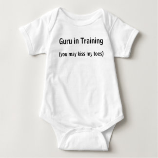 Guru in Training Baby Bodysuit