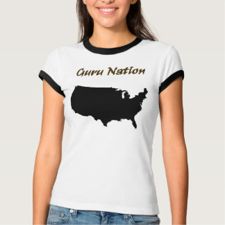 Guru Nation - Black T-Shirt