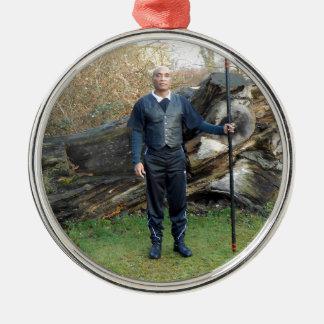 Gurubesar Lancar Ida-Bagus Metal Ornament