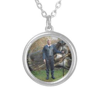 Gurubesar Lancar Ida-Bagus Silver Plated Necklace