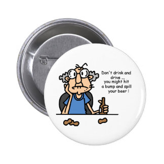 Gus on Drinking and Driving Button