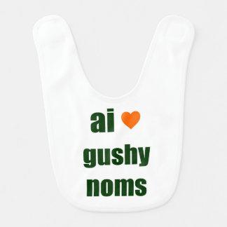 Gushy Noms LOL Baby Bib