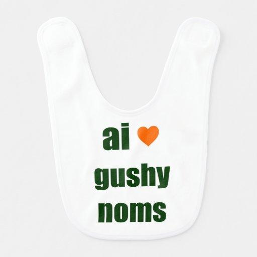 Gushy Noms LOL Baby Bib Baby Bib