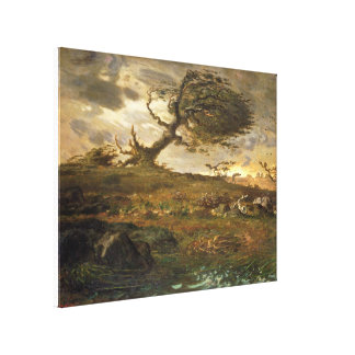 Gust of Wind Canvas Print