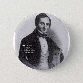 Gustav Albert Lortzing 2 Inch Round Button