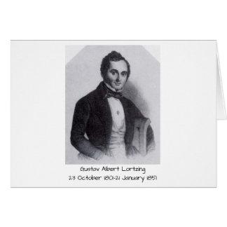 Gustav Albert Lortzing Card