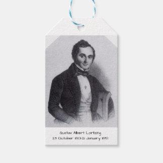 Gustav Albert Lortzing Gift Tags