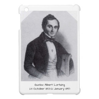 Gustav Albert Lortzing iPad Mini Cases