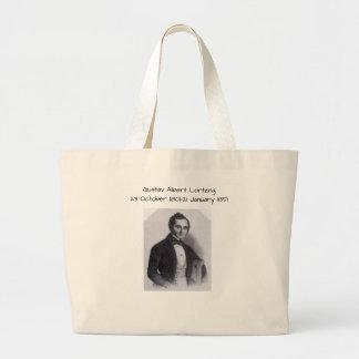 Gustav Albert Lortzing Large Tote Bag