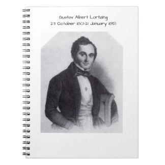 Gustav Albert Lortzing Notebook